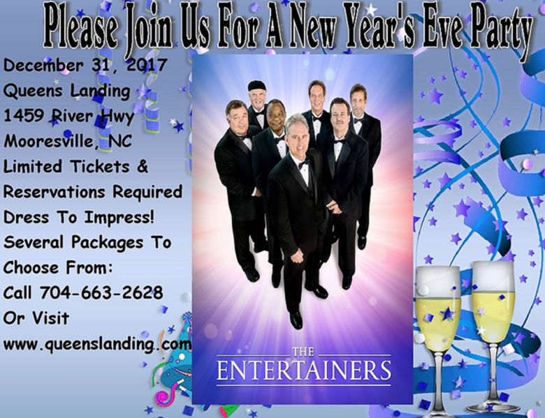 The Entertainers 2017 New Year's Eve Party